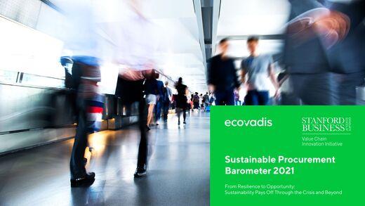 Baromètre EcoVadis Achats Responsables 2021