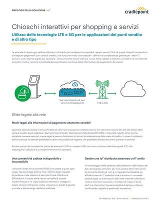Chioschi Interattivi per Shopping e Servizi