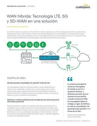 WAN Híbrida: Tecnología LTE, 5G y SD-WAN en Una Solución