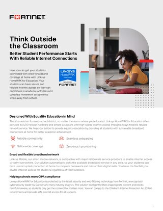 Think Outside the Classroom: Better Student Performance Starts With Reliable Internet Connections