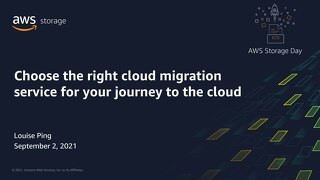 Choose the right cloud migration service for your journey to the cloud