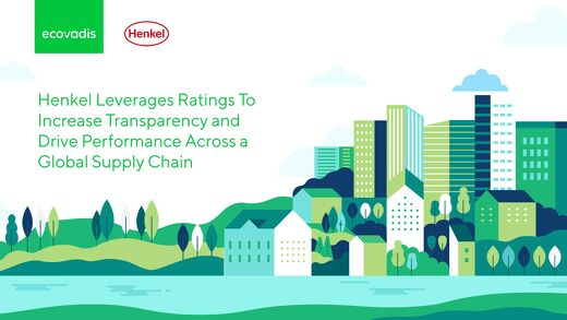 Henkel Leverages Ratings To Increase Transparency and Drive Performance Across a Global Supply Chain