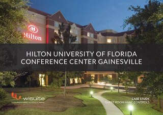 Case Study: Hilton University of Florida Conference Center Gainesville