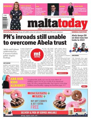 MaltaToday 5 September 2021