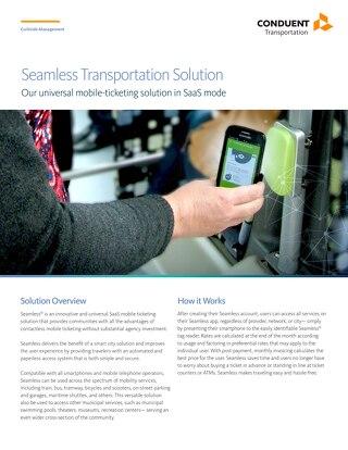 Conduent Seamless® Transportation System