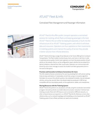 ATLAS® Fleet & Info