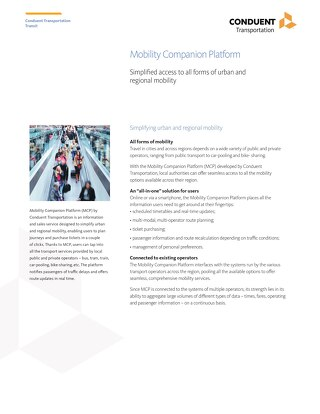 Mobility Companion Platform