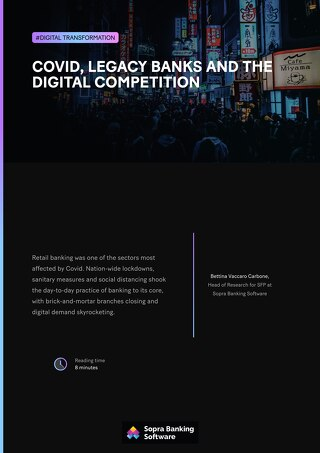 Covid, legacy banks and the digital competition