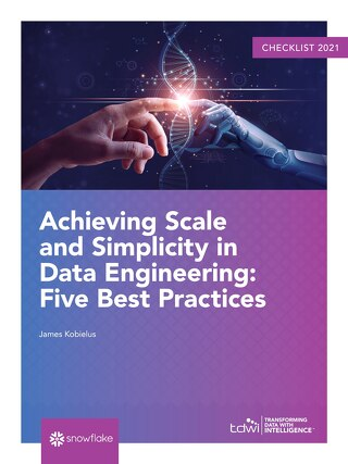 Checklist: Achieving Scale and Simplicity in Data Engineering: Five Best Practices