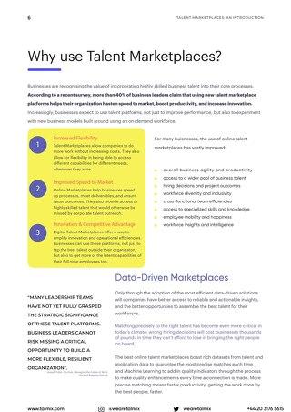 Using Talent Marketplaces
