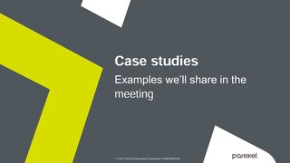 Parexel Case studies