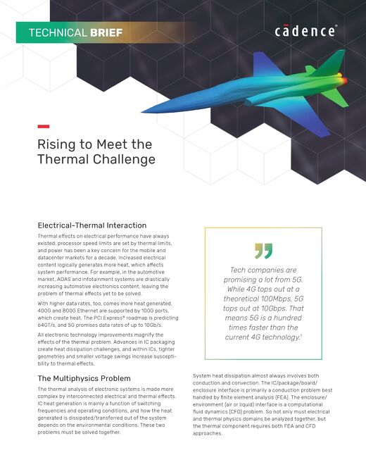 Celsius Technical Brief - Rising to Meet the Thermal Challenge