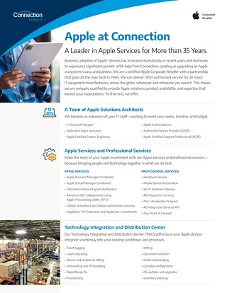 Apple at Connection