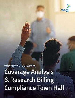 Your Questions Answered - Coverage Analysis and Billing Compliance Town Hall