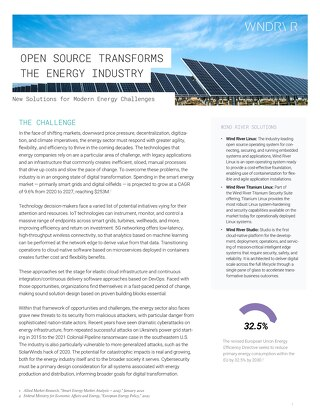 Open Source Transforms the Energy Industry