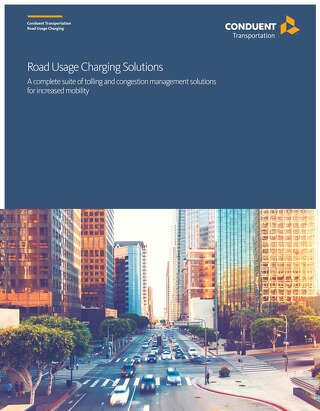 Road Usage Charging Solutions: A complete suite of tolling and congestion management solutions for increased mobility