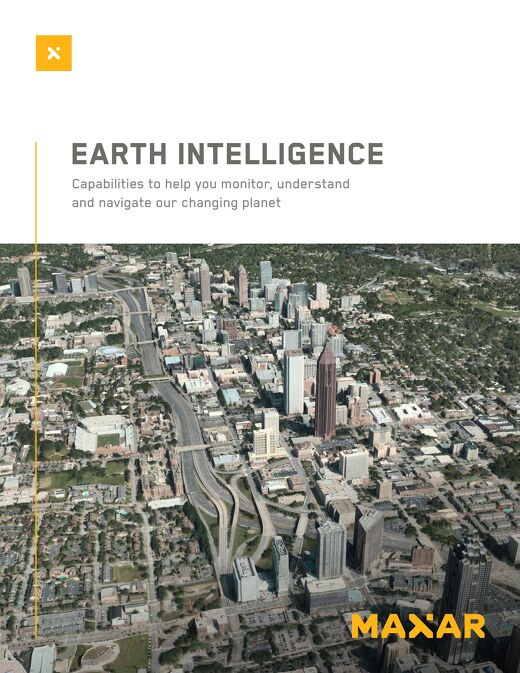 Earth Intelligence Products