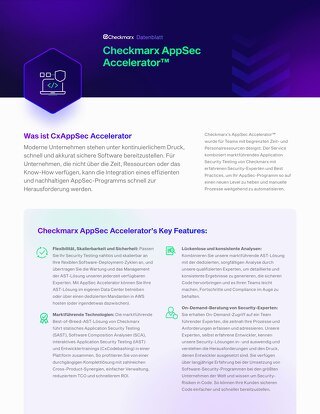 AppSec Accelerator German Datasheet July 2021