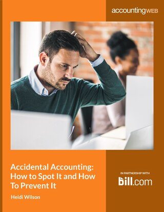 Accidental Accounting: How to Spot it and How to Stop It