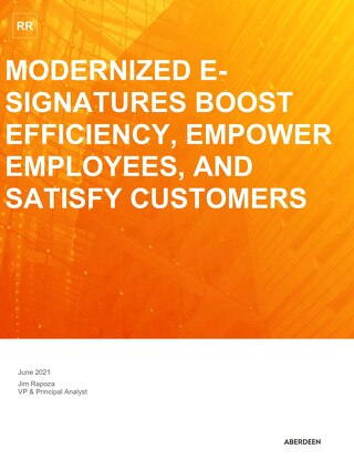 Modernized E-Signatures and Boost Efficiency with Adobe