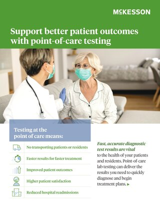 Support better patient outcomes with point-of-care testing
