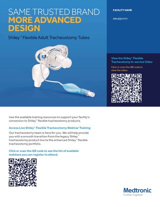 Education Resources: Shiley™ Flexible Adult Tracheostomy Tubes