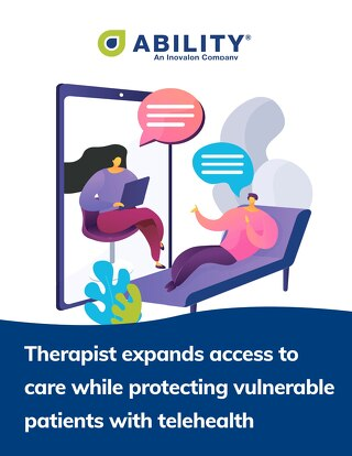 Therapist Expands Access to Care While Protecting Vulnerable Patients With Telehealth