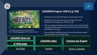 2021 CIGRE Virtual Booth - LifeGRID 420kV g³-GIS