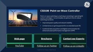 2021 CIGRE Virtual Booth - CSD100