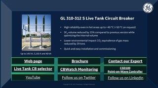 2021 CIGRE Virtual Booth - GL310-312S