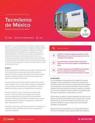Tecmilenio, México: Migrando al aula virtual bajo presión