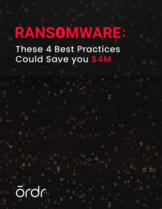 Ransomware: These Four Best Practices Could Save You $4M