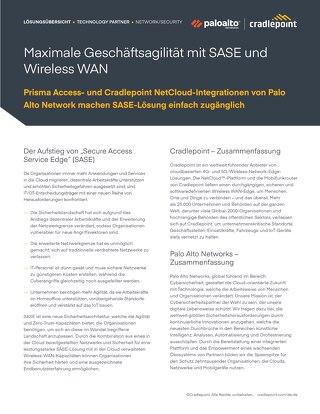 Palo Alto Solution Brief – Germany