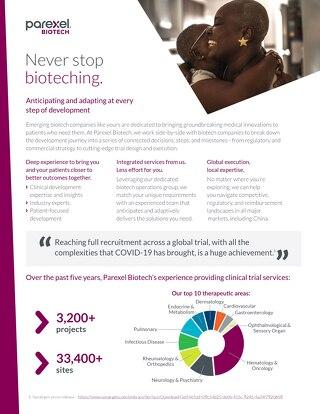 Parexel Biotech Factsheet