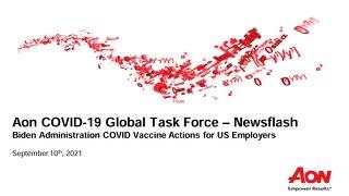 Aon COVID-19 Task Force Newsflash