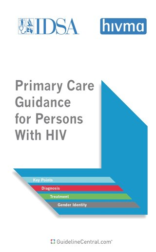 Primary Care Guidance for Persons With HIV - 2021