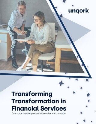 Transforming Transformation in Financial Services