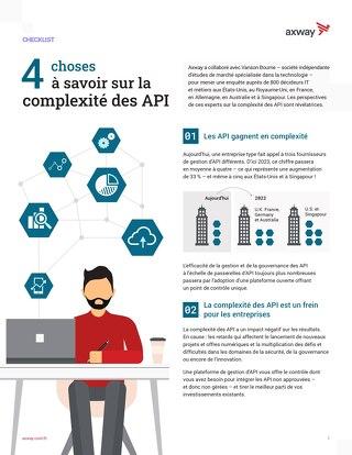 4 à savoir sur la complexité des API