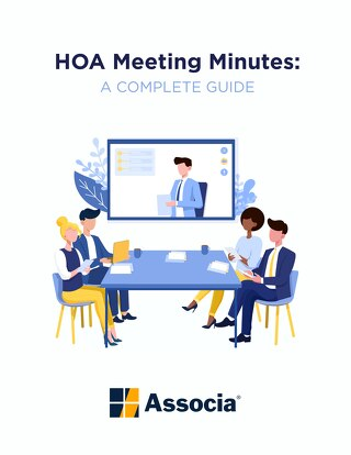 HOA Meeting Minutes:  A Complete Guide
