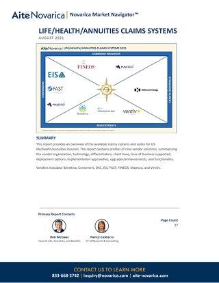 2021 Aite-Novarica Market Navigator Report