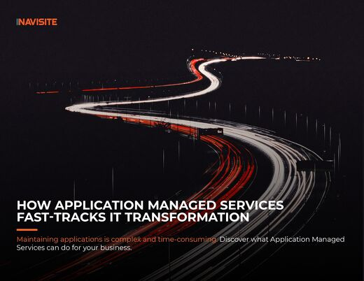 How Application Managed Services Fast-Tracks IT Transformation