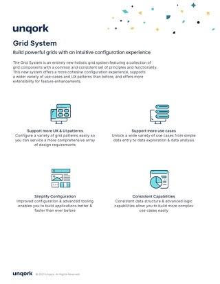 Unqork Grid System