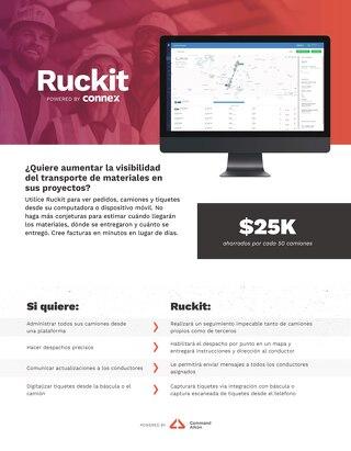 CONNEX Trucking RuckIt Slick Spanish