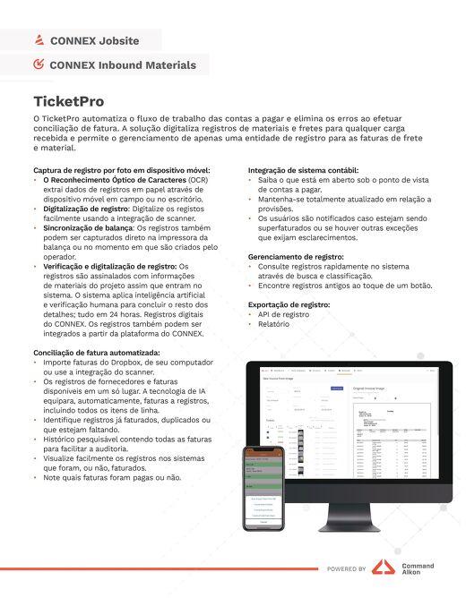 TicketPro Spec Portuguese