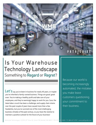 Invest in Warehouse Technology