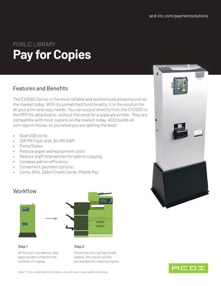 Pay for Copies
