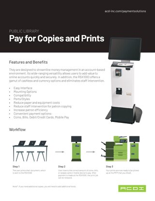 Pay for Copies and Prints