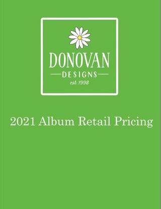 2021 Custom Album Pricing