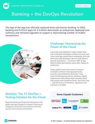 Banking + the DevOps Revolution