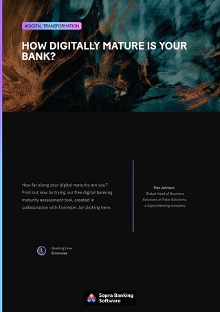 How digitally mature is your bank?